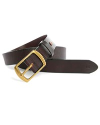 Scotch And Soda Brown Leather Belt