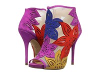 Jessica Simpson Bliths Bright Multi Luxe Kid Suede Women's Shoes