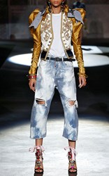 Dsquared2 Bleached Wash Kawaii Jean Blue