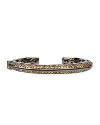 Garden Of Spring And Summer Sapphire Kick Cuff Mcl By Matthew Campbell Laurenza