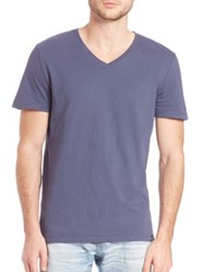 Ag Jeans The Cliff Crew Pima Cotton T Shirt Night Sky