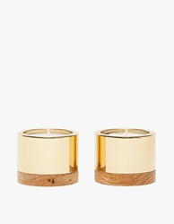 Monocle Brass Candleholders