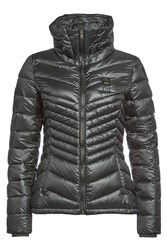 Blauer Wave Quilted Down Jacket Grey