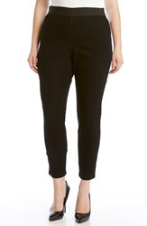 Plus Size Women's Karen Kane Denim Leggings Black