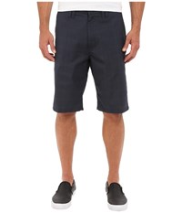 O'neill Delta Plaid Shorts Dark Navy Men's Shorts