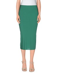 Almeria Skirts 3 4 Length Skirts Women Light Green