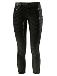 Junya Watanabe Comme Des Garcons Sequined Trousers Black