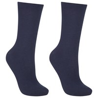 John Lewis Pure Egyptian Cotton Ankle Socks Pack Of 2 Navy