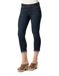 Democracy Ab Solution Skinny Fit Cropped Jeans Indigo