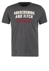 Abercrombie And Fitch Retro Muscle Fit Print Tshirt White