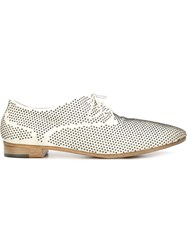 Marsell Studded Lace Up Shoes White