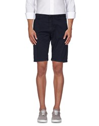 Hamaki Ho Trousers Bermuda Shorts Men Blue