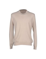 Luigi Borrelli Napoli Knitwear Jumpers Men Sand