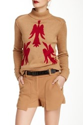 L.A.M.B. Bird Sweater Beige
