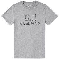 C.P. Company Shadow Logo Tee Grey