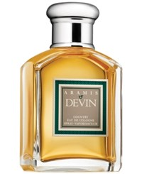 Aramis Devin Country Eau De Cologne Spray 3.4 Oz.
