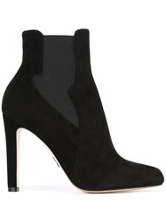 Paul Andrew Stiletto Chelsea Boots Black