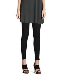 Eileen Fisher Stretchy Jean Leggings Women's Black