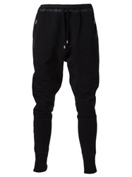 Unconditional Fitted Sweat Pants Black