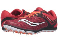Saucony Havok Xc Spike Red White Citron Men's Track Shoes Multi