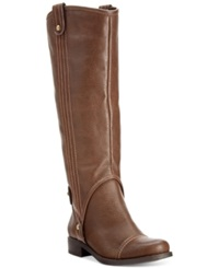 Dolce By Mojo Moxy Renegade Riding Boots Women's Shoes Brown