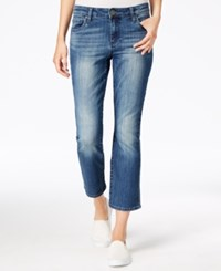 Kut From The Kloth Flare Leg Primo Wash Cropped Jeans