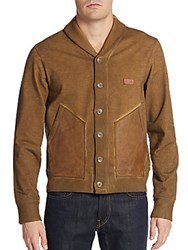 Prps Chrome Coated Cardigan Brown