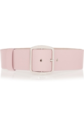 Givenchy Wide Waist Belt In Light Pink Leather