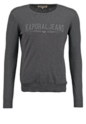 Kaporal Wipo Jumper Dark Grey Mottled Dark Grey