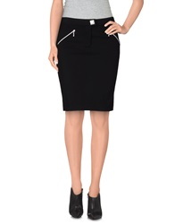 Byblos Knee Length Skirts Black