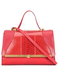 Khirma Eliazov 'Oxy' Satchel Red