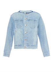 Marc By Marc Jacobs Icon Collarless Denim Jacket