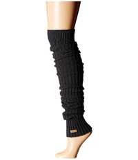 Toesox Leg Warmer Knee Highs Charcoal Grey Women's Knee High Socks Shoes Gray