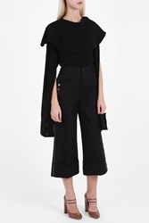 J.W.Anderson Deconstructed Top Black