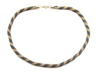 Zt Vintage Twisted Snake Chain Necklace