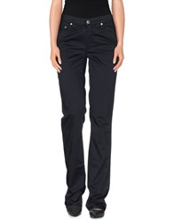Gant Trousers Casual Trousers Women Dark Blue