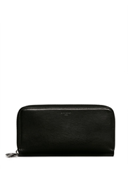 Givenchy Shark Tooth Charm Continental Leather Wallet