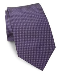 Ralph Lauren Woven Silk Tie Purple