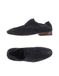 N.D.C. Made By Hand Footwear Lace Up Shoes Men Slate Blue