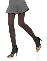 Hue Opaque Tights With Control Top Dark Grey