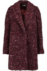 Elizabeth And James Bebe Boucle Coat Red