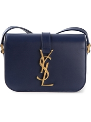 Saint Laurent 'Universite' Crossbody Blue