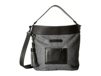 Sherpani Boheme Slate Cross Body Handbags Metallic