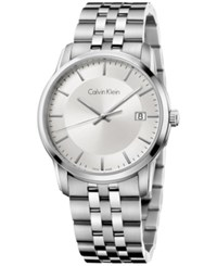 Calvin Klein Men's Swiss Infinite Stainless Steel Bracelet Watch 42Mm K5s31146