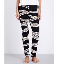Moschino Underbear Jersey Leggings 1555 Black