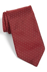 Todd Snyder Dot Silk Tie Red