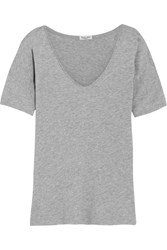 Splendid Supima Cotton And Micro Modal Blend T Shirt Gray