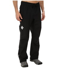 Black Diamond Liquid Point Pants Black Men's Casual Pants