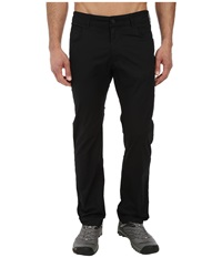 Black Diamond Stretch Font Pants Black Men's Casual Pants