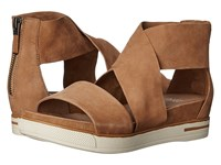 Eileen Fisher Sport Wheat Tumbled Nubuck Women's Sandals Taupe